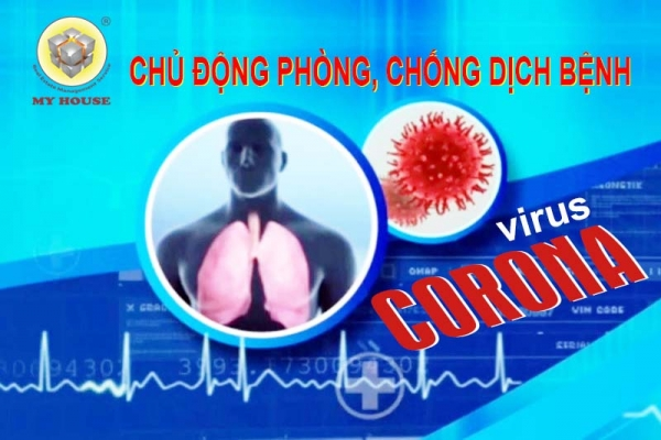 MY HOUSE phòng chống dịch viêm phổi cấp do virus nCoV tại các chung cư