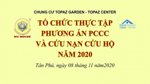 DIỄN TẬP PCCC TẠI CHUNG CƯ TOPAZ GARDEN TOPAZ CENTER