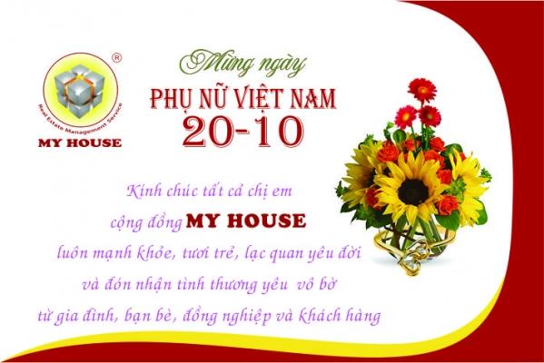 MY HOUSE tổ chức kỷ niệm ngày thành lập Hội Liên hiệp Phụ nữ Việt Nam 20 10