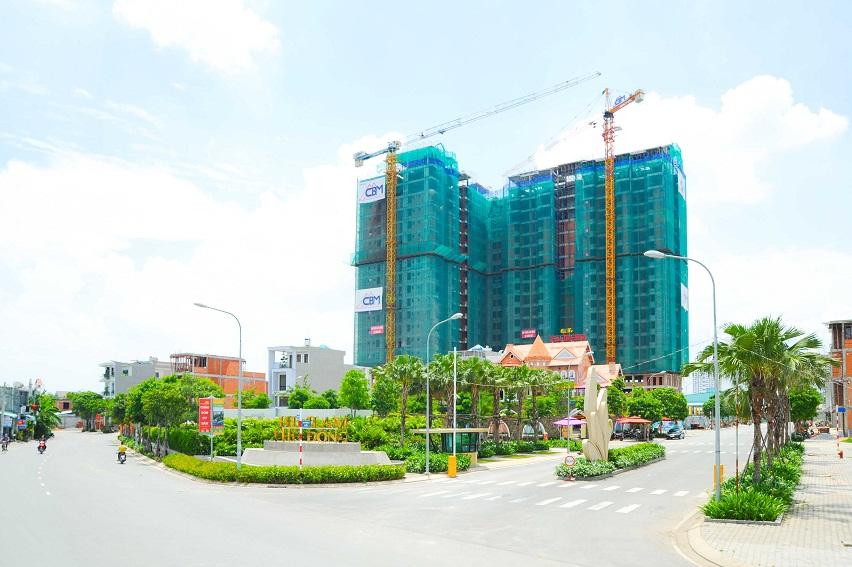 Sốt đất khu Đông, Tây: cơ hội cho căn hộ giá mềm Bắc TP.HCM