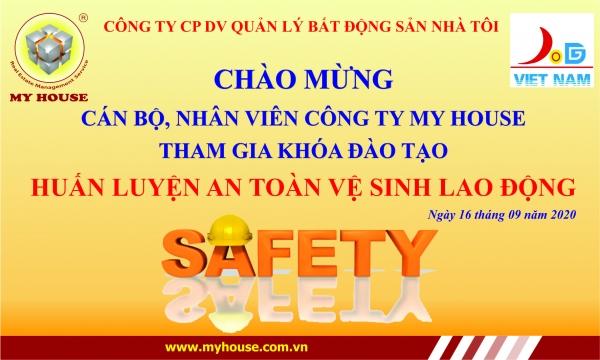MY HOUSE tổ chức huấn luyện An toàn vệ sinh lao động