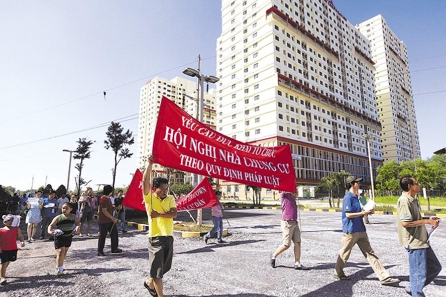 Sài Gòn: Cả trăm chung cư rơi vào trạng thái tranh chấp