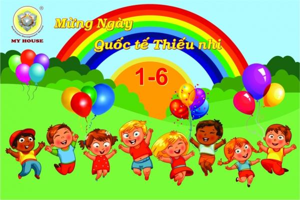 MY HOUSE đồng loạt tổ chức ngày Quốc tế Thiếu nhi 1 6 cho các bé tại các chung cư